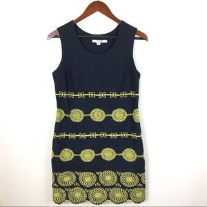Boden Embroidered Shift Dress